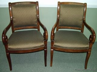 5859: Sherrill Set Of 2 Open Arm Accent Chairs photo