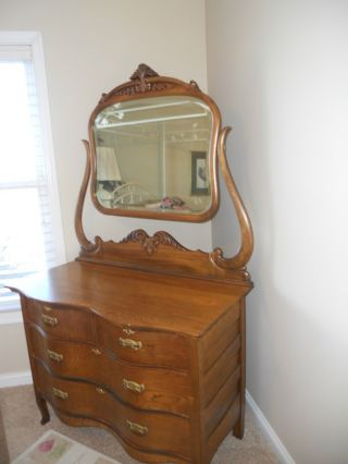 Antique Furniture Dresser photo