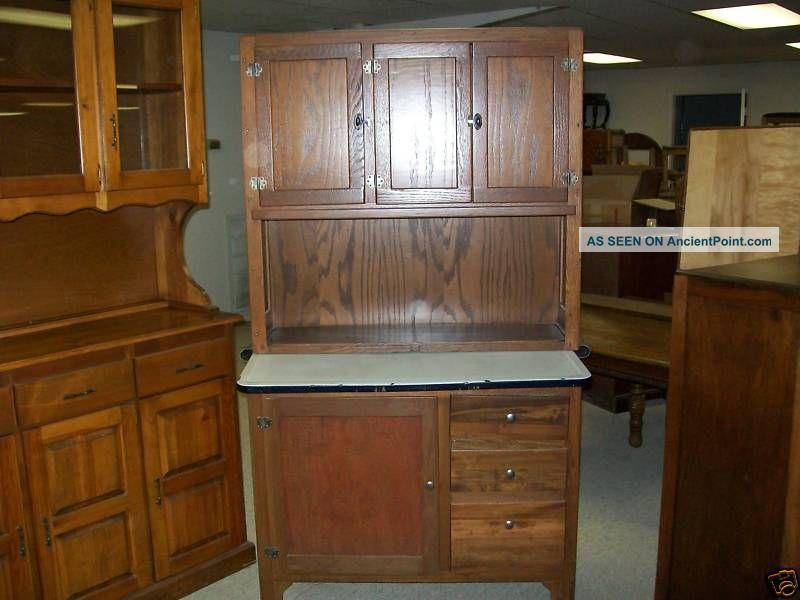 Antique Kitchen Cabinet Cupboard 1900 1950 Photo