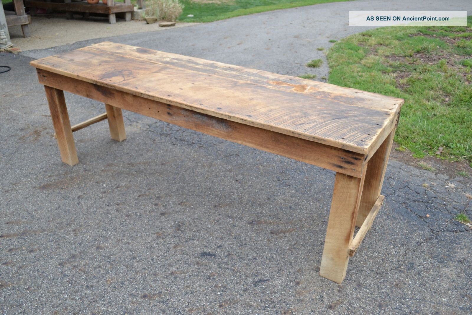 Magnificent Rustic Kitchen Table with Bench 1600 x 1066 · 332 kB · jpeg