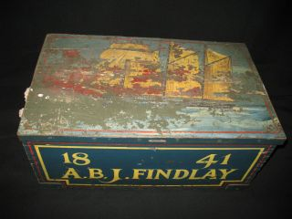 Antique Maritime Box/trunk photo