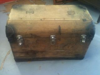 Very Old And Stage Coach Trunk photo
