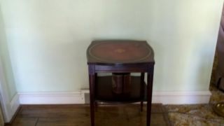 Vintage Unique End Table - Rare - photo