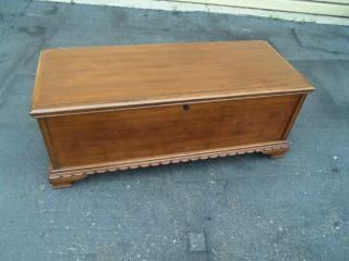 50369 Vintage West Branch Cedar Lined Cedar Chest Trunk photo