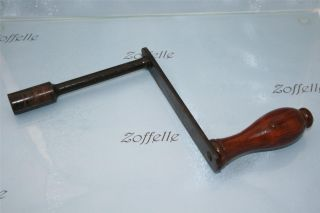 Antique Victorian Table Winder / Winding Handle photo