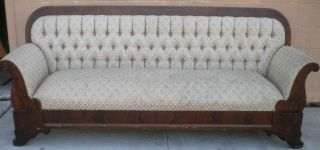 Antique Empire Sofa photo