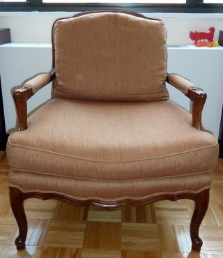 Baker Arm Chair Baker Berger Chair French Country Arm Chair Baker Furniture photo