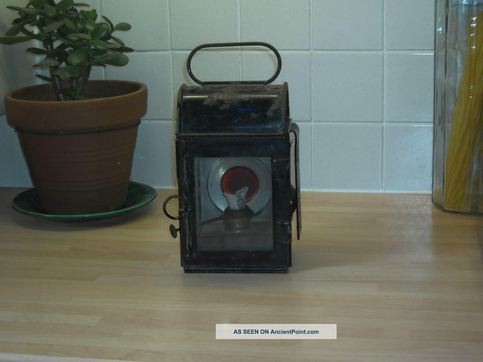 G.  P.  O Vintage Oil Lamp 20th Century photo