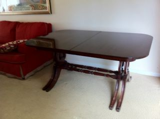 Traditional Antique Mahogany Dining Table photo