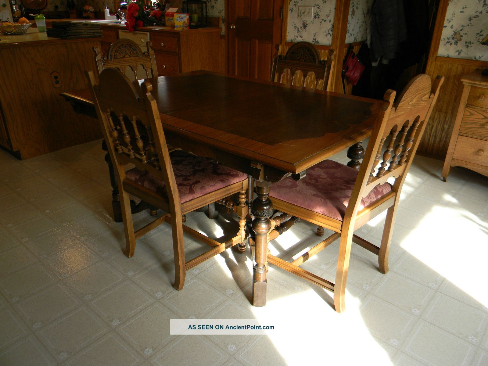 Grand Rapids Furniture Company Arts And Crafts Dining Table