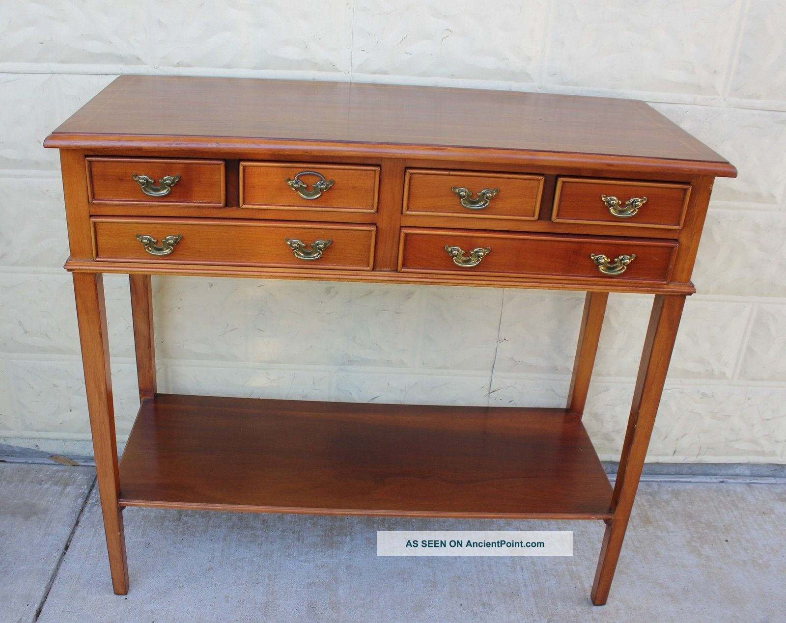 antique hall table. Antique Hall Table A