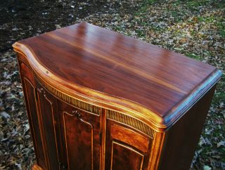 Gorgeous. . . . . . . . .  1920 ' S Antique Radio Cabinet. .  Antique Linen Cabinet. . .  Mahogany photo