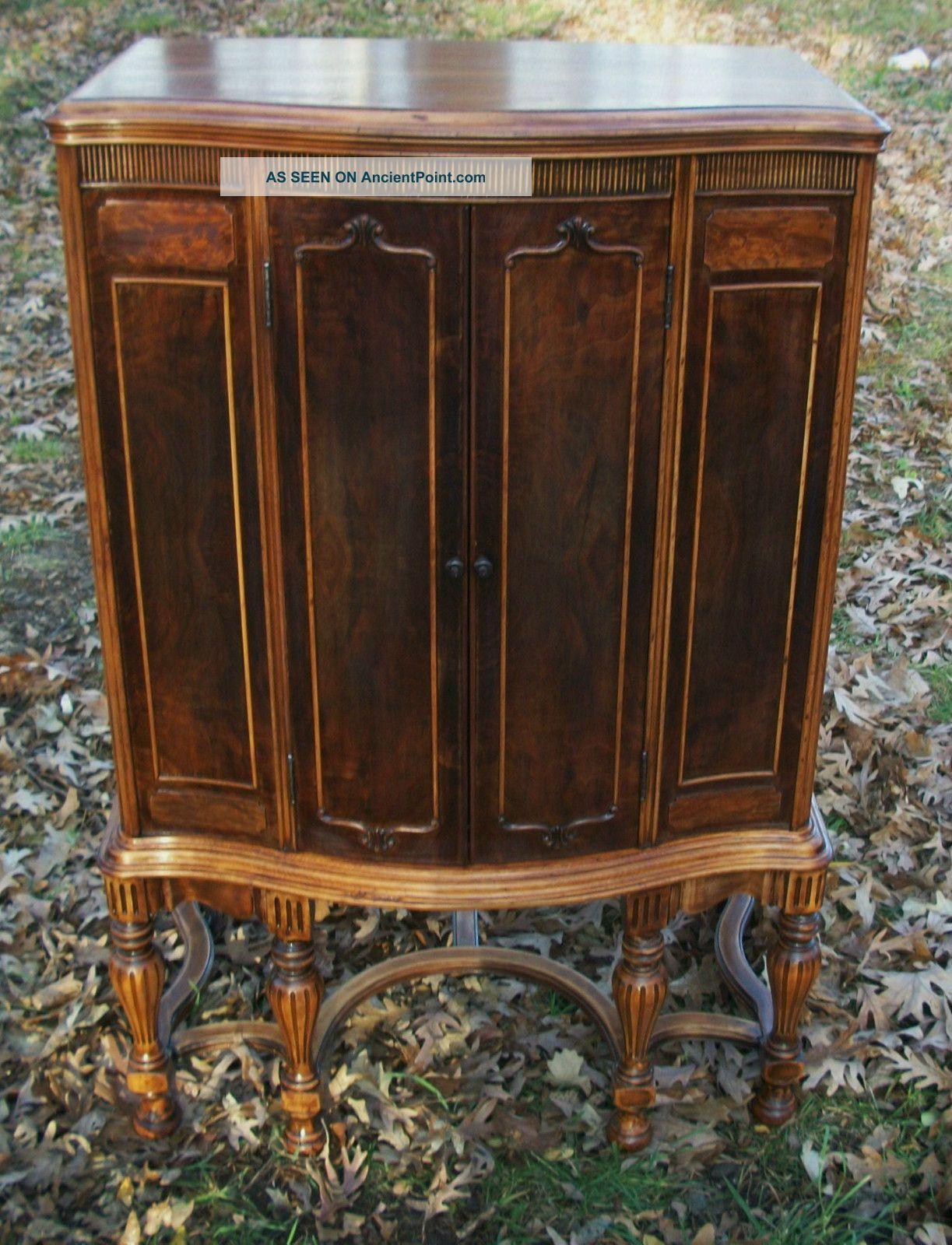 1920 ' S Antique Radio Cabinet. . Antique Linen Cabinet. . . Mahogany - Gorgeous. . . . . . . . . 1920 ' S Antique Radio Cabinet. . Antique