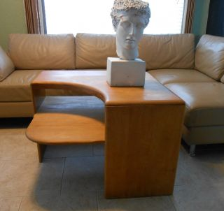 Rare Heywood Wakefield Corner Side End Table /mid - Century Modern Eames Er photo