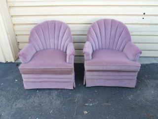 49902 Pair Modern Choice Seating Armchair S Chair S photo