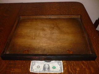 Antique Globe Wernicke Oak Stacking File Drawer photo