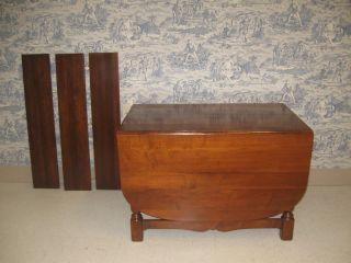 Abernathy Furniture Co Large Dropleaf Dining Table U0026 3 Leaves Photo