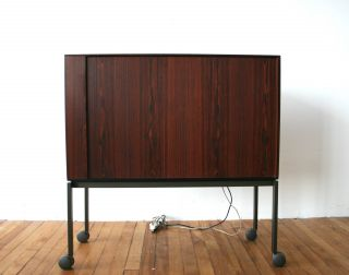 Bang & Olufsen Rosewood Tv Cabinet Danish Retro Vintage 50s 60s 70s photo