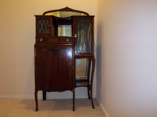 Antique Music Cabinet photo