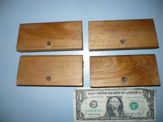 4 Antique Wood Cabinet Co.  Ill.  Card File Cabinet Drawer Divider Part photo