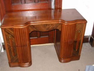 Vanity Base Not Sure Of Style Or Age - Antique Great Wood photo