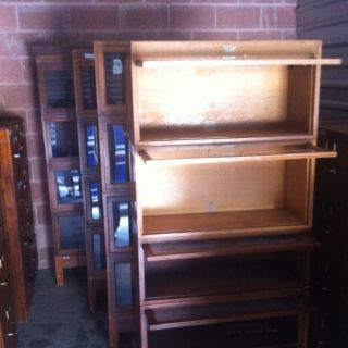 Globe Wernicke Oak Barrister Stack Bookcase,  1800 - 1950 photo
