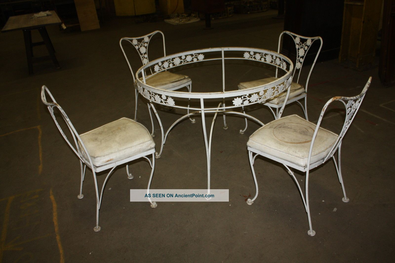 iron outdoor furniture vintage vintage american wrought iron
