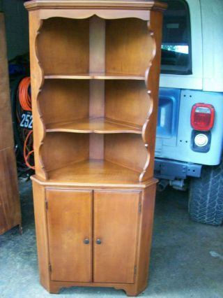 Maple Corner Cabinet photo