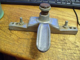 Vintage Door Cabinet Pre Hole Hinge Punch Tool photo