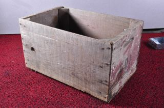 Antique Vintage Wood Crate From Portland Oregon H 11