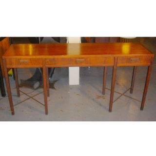 Vintage Founders Mahogany Console Table photo