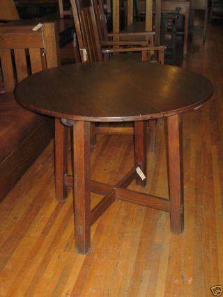 Charles Limbert Round Dining Table 36