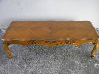French Cherry Coffee Table 1184 photo