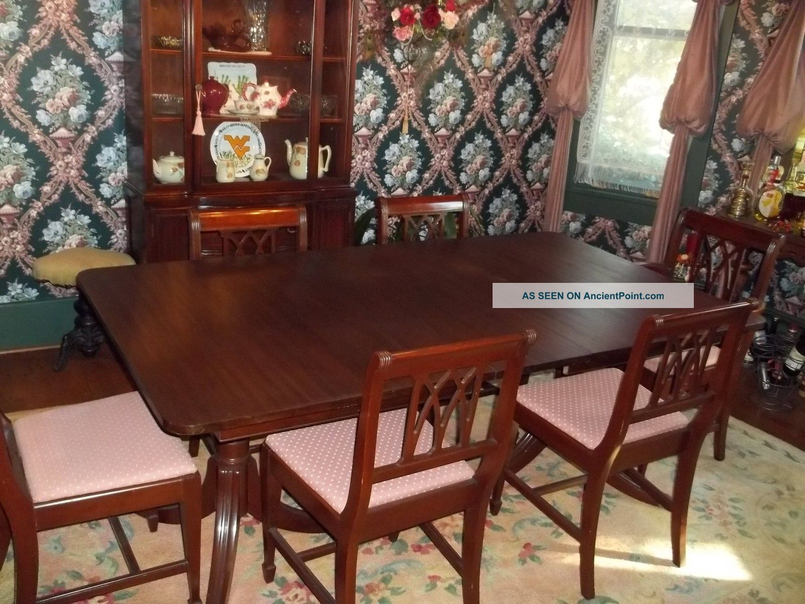 Incredible Vintage Mahogany Dining Room Set 1600 x 1200 · 326 kB · jpeg