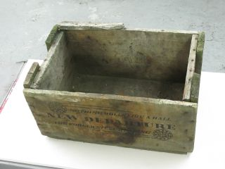 Antique Vintage Wood Crate From Portland Oregon 24 X 15 X 11 Departure photo