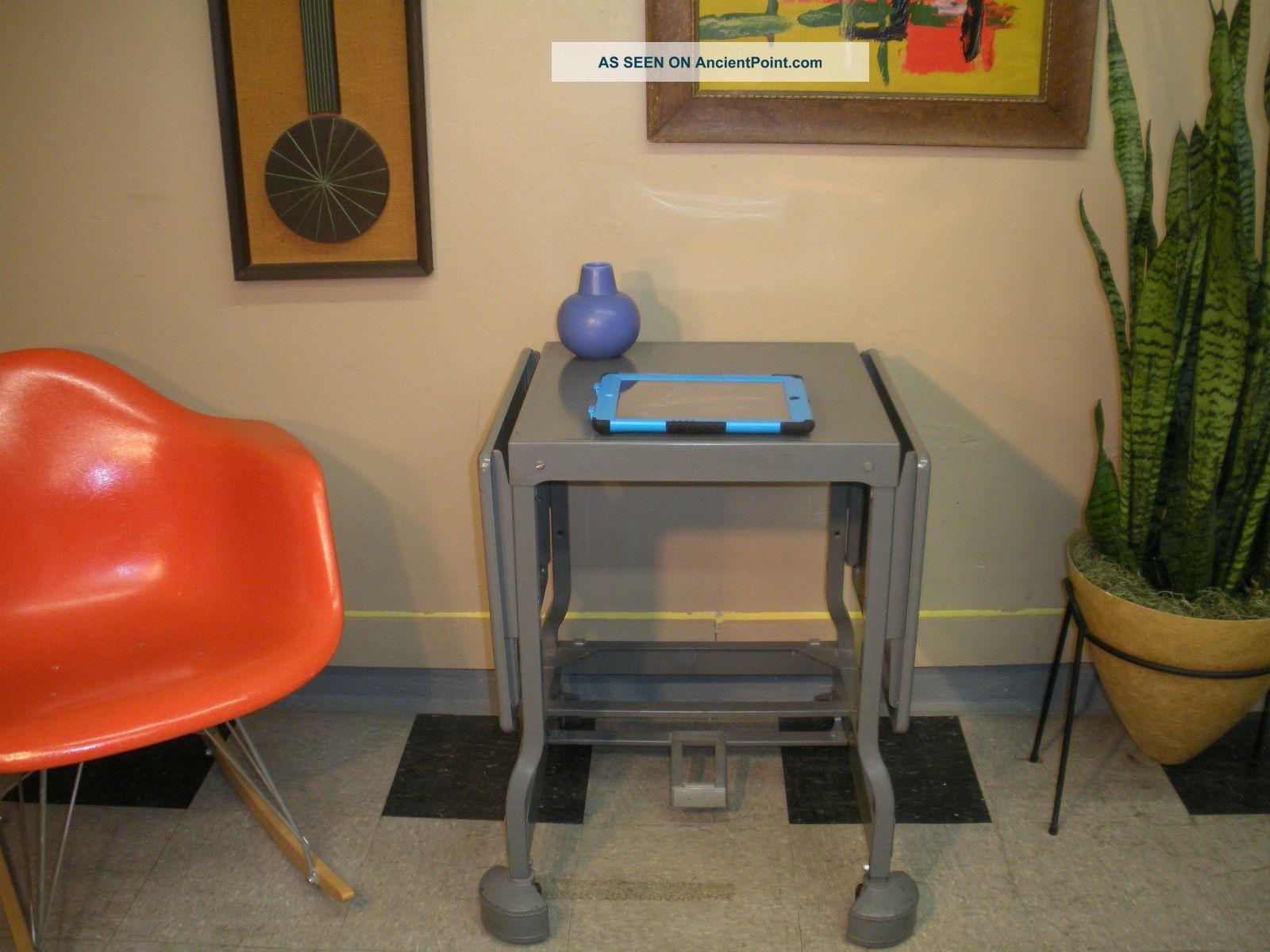 Laptop Printer Desk 1960 ' s Typing Laptop Printer