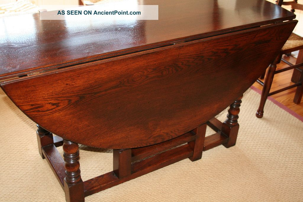 Dining Table Gateleg Dining Table Oak