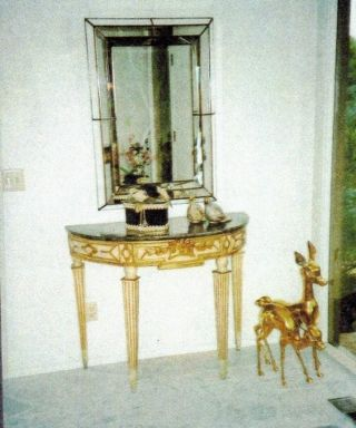 Loiuis Xvi Console/entry Tables And Mirrors photo