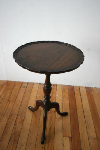 Mahogany Wine Table Plant Table Stand photo