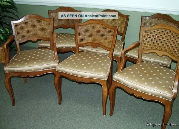 5845: Kindel Set Of 6 French Dining Chairs Craftsmanship Post-1950 photo