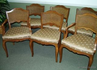 5845: Kindel Set Of 6 French Dining Chairs Craftsmanship photo