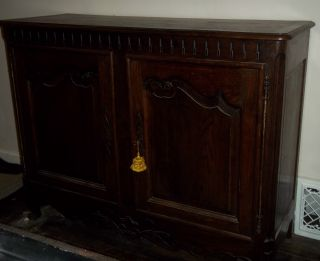 Late 18th C.  Early 19th C.  French Buffet photo
