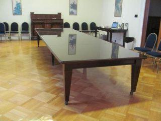 19th Century Mahogany 16 ' Dining Room Conference Table 11cc10 photo