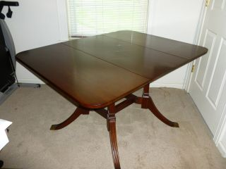 Duncan Phyfe Drop - Leaf Table Mahogany One - Of - A - Kind Pick - Up Only Read photo