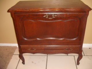 Early 1900s Country French Cabinet / Bar photo