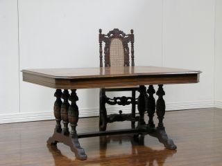 Dk0221 : American Spanish Style Oak Table photo