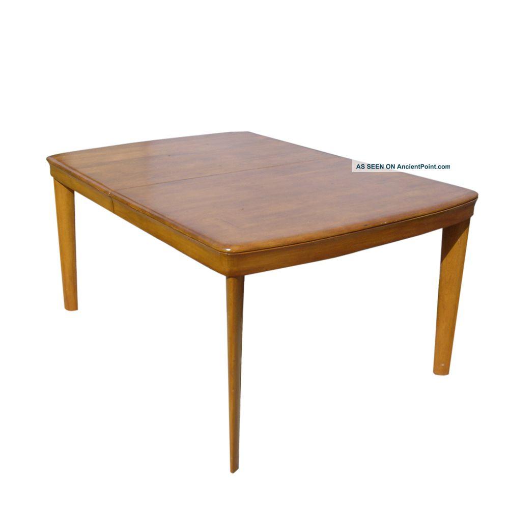 ... Wakefield Walnut 5 - Leg Dining Table Price Reduced 1900-1950 photo