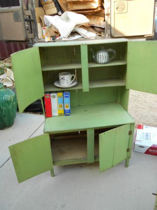 Early Child ' S Stepback Cupboard,  Kitchen Cabinet photo