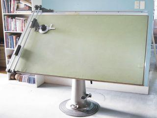 Antique Nike Eskilstuna Hydraulic Drafting Table photo