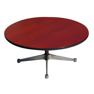 Vintage Crimson Red Herman Miller Side Coffee Table Price Reduced photo